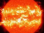 année d'éruptions solaires pour