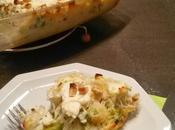 Gratin brocoli chou-fleur, cheveux d'ange, ricotta noix cajou Tour Cuisine tour gratins