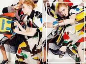 Daria Werbowy dans super campagne Arty Chic Céline...