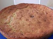 Gâteau compote pommes palets chocolat