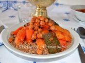 Couscous d'Orge Légumes Viande.