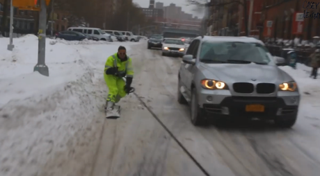 Snowboard à NYC