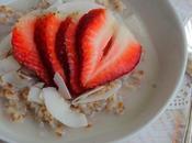 Déjeuner boulgour, coco citron fraises