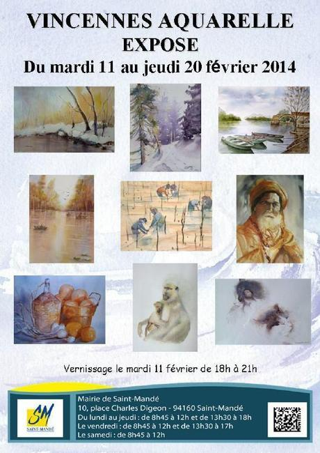 vincennes aquarelle 2014