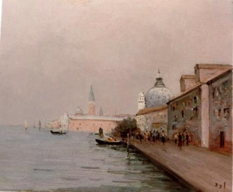 Quai de la Giudecca à Venise