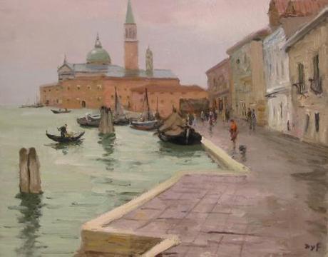 Eglise Saint Georges à Venise