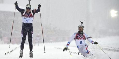 Martin Fourcade second