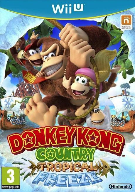 jaquette donkey kong country tropical freeze wii u wiiu cover avant Test   Donkey Kong Country : Tropical Freeze   WiiU