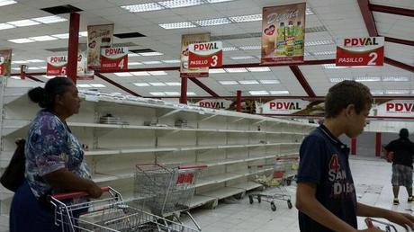 Venezuela pénurie