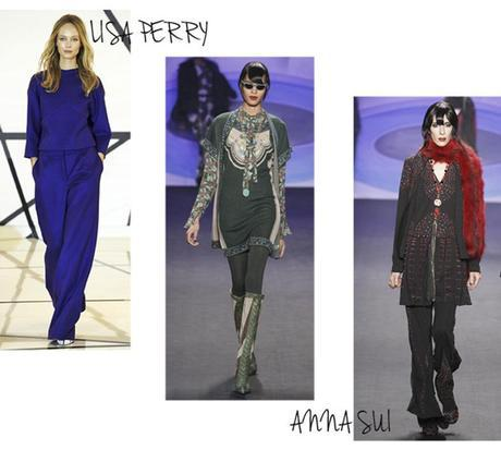 lisa perry new york winter 2014-2015, defile anna sui hiver, fashion week