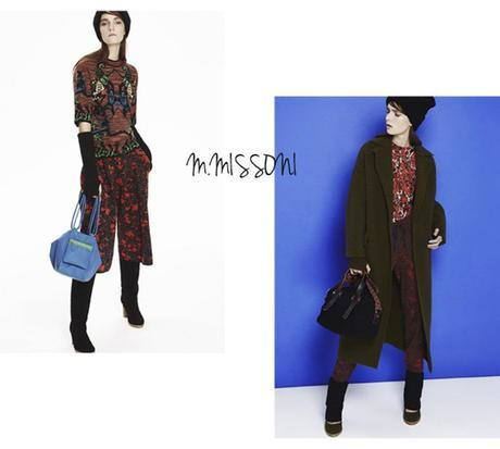 pull maille M Missoni, defile hiver 2014-2015, photos fashion week new york
