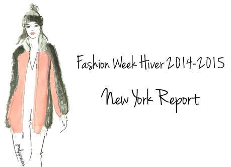 fashion week new york hiver 2014 2015, defile BCBG Max Azria 3