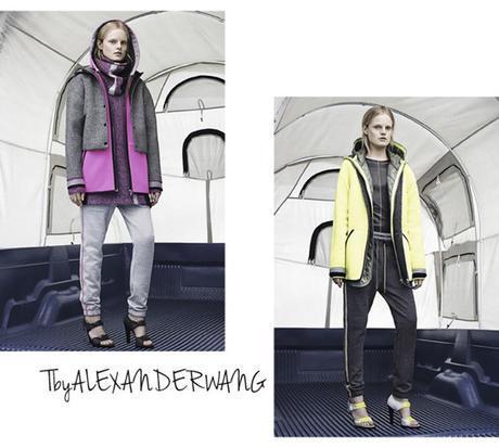 jogging chic T by alexander wang, fashion week new york hiver 2014-2015, sweatshirt alexander wang