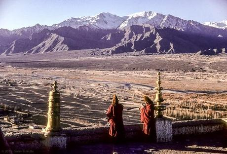 From Thiksey Gompa : Indus Valley, Ladakh