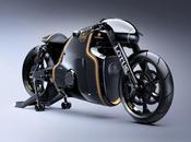 designer TRON signe première moto marque LOTUS