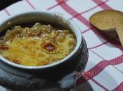 Soupe l'oignon haddock gratinée