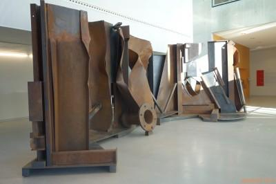 Anthony Caro Shadows 2012-2013, Acier rouillé, Collection Annely Juda Fine Art, Londres
