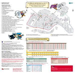 Cartes transports Carnaval