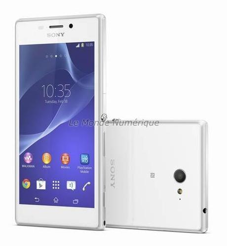 MWC 2014 : Sony lance le smartphone Xperia M2, 4G et abordable
