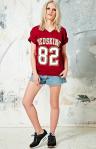 Tshirt Redskins - Short Vintage Renewal Urban Outfitters - Sneakers Nike
