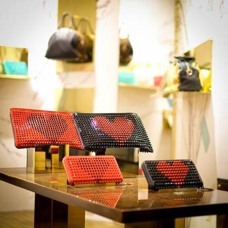 magasin éphémère pour les sacs Christian Louboutin