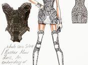 Beyoncé habillée Versace pour Carter World Tour...