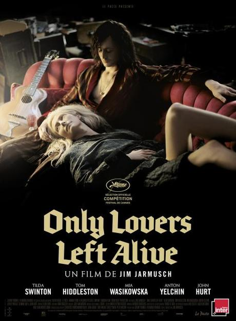 Only Lovers Left Alive - Affiche