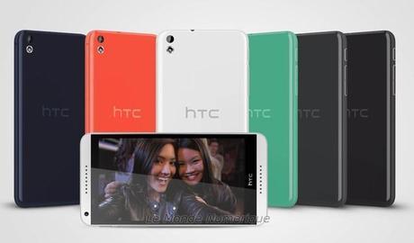 MWC 2014 : Desire 816, un autre smartphone de milieu de gamme pour HTC