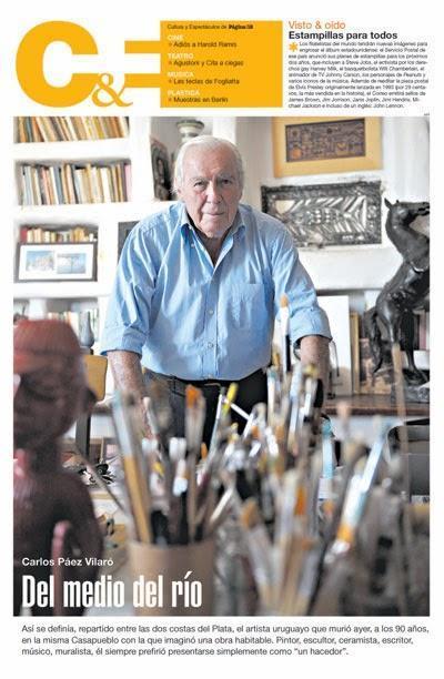 Décès d'un grand artiste uruguayen: Carlos Páez Vilaró avait 90 ans [Actu]