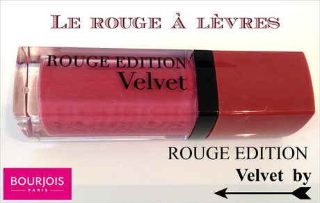 Le rouge édition Velvet by Bourjois