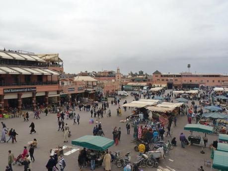 La place Jemma el-Fna