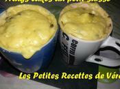 Mugs Cakes petit suisse
