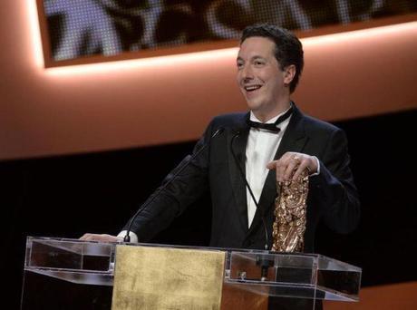 Guillaume Gallienne cérémonie des César 2014 - (Photo Martin Bureau. AFP)