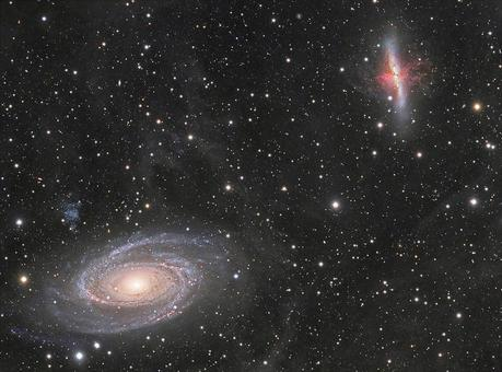 M81/M82 with SN2014J Extreme deep field