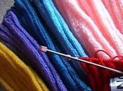 Maryvonne notre tricoteuse Martine réchauffent galgos d'Espagne