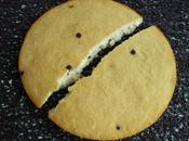 cookie-cake diététique hyperprotéiné noix coco pépites chocolat