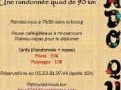 Rando quad comité fêtes Jean d'Estissac 2014