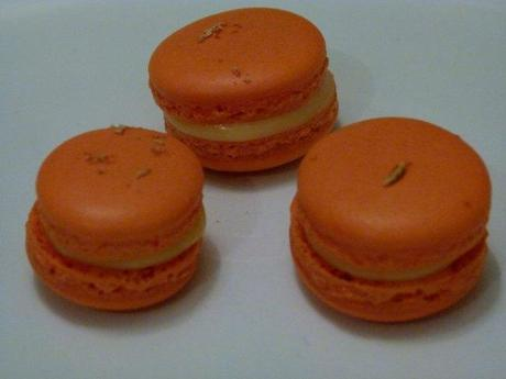 Macarons Orange-Gingembre...