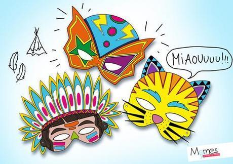 Des masques pour Mardi Gras