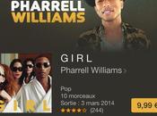 Girl Pharrell Williams dispo iTunes