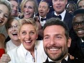 selfie historique lors Oscars 2014