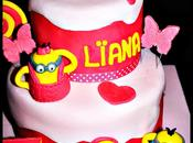 Cake design Minions girly