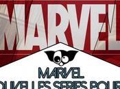 nouvelles Séries Marvel super héros l'honneur