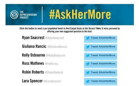 #AskHerMore
