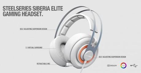 Steelseries Siberia Elite - Descriptions des éléments