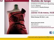 Première exposition 2014 Museo Casa Carlos Gardel l'affiche]