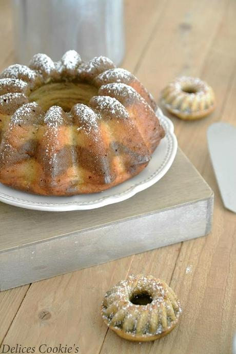bundt cake citron matcha IG bas battle food