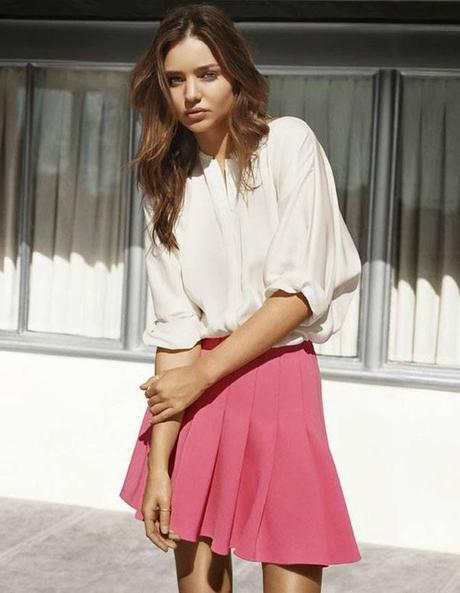 Miranda Kerr for H&M : Le shooting photo...
