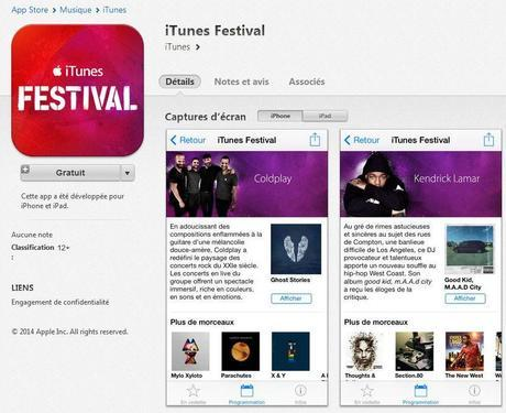 iTunes Festival SXSW 2014