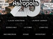 Astropolis premiers noms